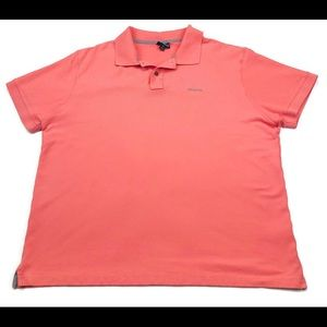 Patagonia Short Sleeve Polo Shirt Spell Out 2XL